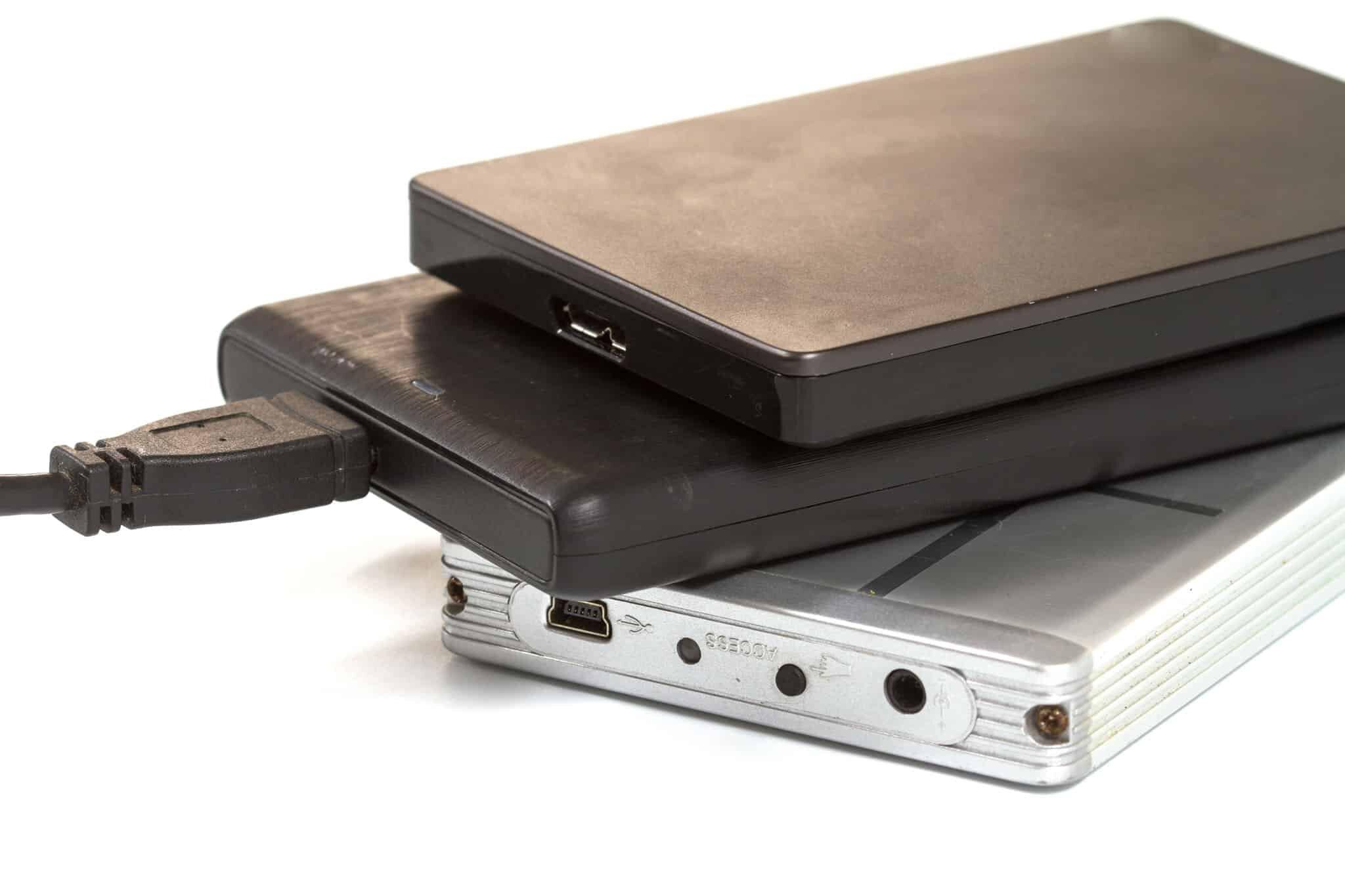 Externe Festplatten mit Datenverlust, meißt dursch Stoßschäden