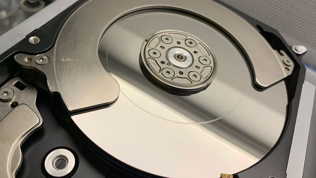 Festplatte Klackert
