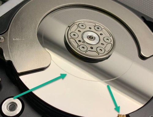 Datenrettung Festplatte nach Sturzschaden